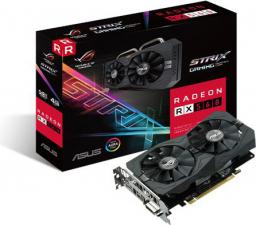 Karta graficzna Asus ROG Strix Radeon RX 560 Gaming, 4GB GDDR5 (128 Bit), DP, HDMI, DVI-D, BOX (ROG-STRIX-RX560-4G-GAMING)