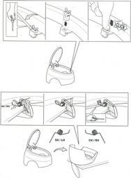Meliconi Sprężyny i system zamykania do koszy Soft-Touch
