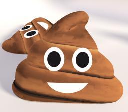 """Poduszka kształtka  """"Poop"""" B328-POD"""