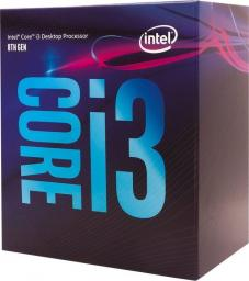 Procesor Intel Core i3-8100, 3.6GHz, 6MB, BOX (BX80684I38100)