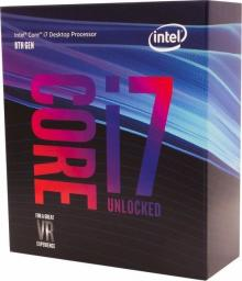 Procesor Intel Core i7-8700K, 3.7GHz, 12 MB, BOX (BX80684I78700K)