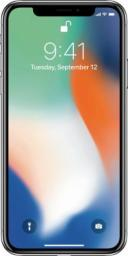 Smartfon Apple iPhone X 64 GB Srebrny  (MQAD2PM/A)