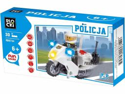 Blocki Klocki Blocki - Policja 30 el. (KB6734)
