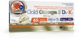 Gold Omega 3 D3+K2 30 kaps.