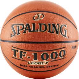 Spalding Piłka do koszykówki TF-1000 LEGACY FIBA pomarańczowy r.7 (74450Z)