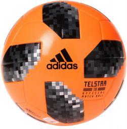 Adidas Piłka Nożna Telstar WC Winter pomarańczowa r. 5 (CE8084)