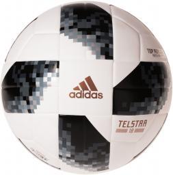 Adidas Piłka Nożna Telstar WC TOP Replique  X czarno-biała r. 5 (CD8506)