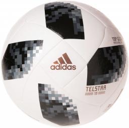 Adidas Piłka nożna Telstar World Cup 2018 Glider Black/White r. 5 (CE8096)