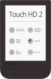 Czytnik PocketBook Touch HD 2 brązowy (PB631-2-X-WW)