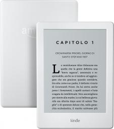 Czytnik Amazon Kindle Touch 8 White Bez Reklam (B0184OCGAK)