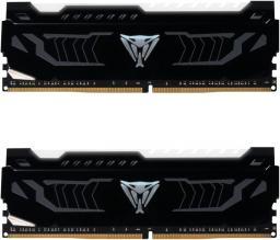 Pamięć Patriot Viper LED, DDR4, 16 GB,3200MHz, CL16 (PVLW416G320C6K)
