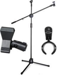 Mozos Statyw mikrofonowy + 2 uchwyty GRATIS (SM803)