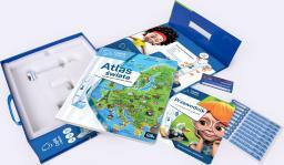 Albi Czytaj z Albikiem - Zestaw Pióro + Atlas świata