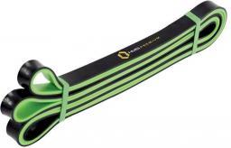 Guma do ćwiczeń 17x5x2250mm zielono-czarna