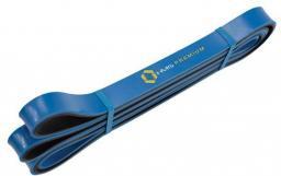 Guma do ćwiczeń 21x5x2250mm niebiesko-czarna