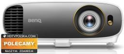 Projektor BenQ W1700 DLP 4K UHD, HDR, 2200 ANSI