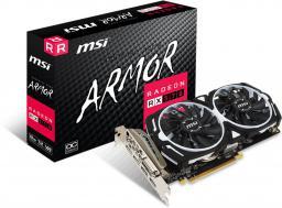 Karta graficzna MSI Radeon RX 570 ARMOR OC 8GB GDDR5 (256 Bit), DVI-D, HDMI, 3xDisplayPort, BOX (RX 570 ARMOR 8G OC)