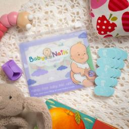 JWIN Design Baby Nails - pilniczki do paznokci 6m+