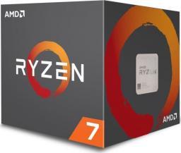 Procesor AMD Ryzen 7 2700X, 3.7GHz, 16 MB, BOX (YD270XBGAFBOX)