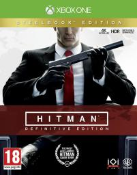Hitman: Definitive Edition D1 Steelbook