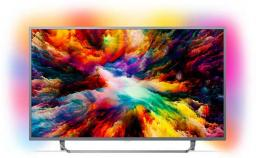 Telewizor Philips 50PUS7303/12 4K, HDR Plus, Android, AMBILIGHT 3, QWERTY
