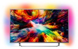 Telewizor Philips 55PUS7303/12 4K, HDR Plus, Android, AMBILIGHT 3, QWERTY
