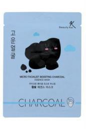 Beauty Kei Maseczka na płacie oczyszczająca Charcoal 1szt