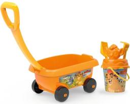 Smoby Wózek z akcesoriami do piasku - Lwia Straż (867005)