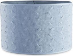 Babys Only Cable Baby Blue Abażur na lampę, Niebieski, 30 cm (BSO0134720)