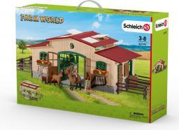 Figurka Schleich Stajnia z końmi i akcesoriami (42195)