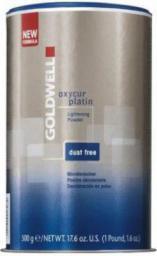 Goldwell Oxycur Platin Lightening Powder Dust Free puder rozjaśniający do włosów 500g
