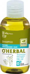 Elfa Pharm O'Herbal Szampon do włosów suchych i zniszczonych z ekstraktem z lnu 75 ml