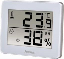 Stacja pogody Hama Termometr/Hygrometr TH-130, Biały