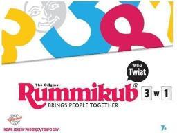Tm Toys Rummikub 3w1 (LMD 8600)