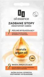 AA Cosmetics OIL ESSENCE Zadbane Stopy Maska-Peeling do stóp 2x5ml