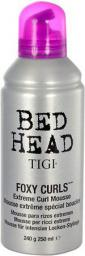 Tigi Bed Head Foxy Curls Extreme Curl Mousse Pianka do włosów 250ml