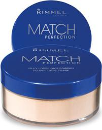 Rimmel  Match Perfection Loose Powder Puder sypki Transparent 10g