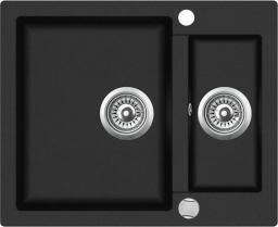 Teka Zlewozmywak 1,5-komorowy Clivo 60 S-TQ bez ociekacza 60 x 49,5cm onyks (40148030)