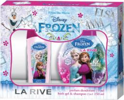 La Rive WOMEN ZESTAW FROZEN (dezodorant 75ml + żel pod prysznic 2w1 250ml)