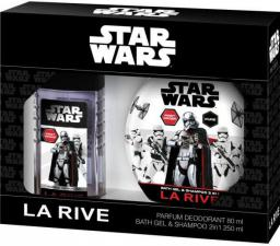 La Rive MAN ZESTAW STAR WARS FIRST ORDER (dezodorant 80ml + żel pod prysznic 2w1 250ml)