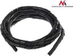 Organizer Maclean Osłona maskująca na kable MCTV-686 B (14.6*16mm) 3m czarna spirala (MCTV-686)