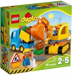 Lego Duplo Ciężarówka i koparka (10812)