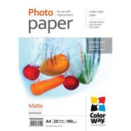ColorWay Matte Photo Paper  (PM190020A4)