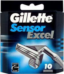 Gillette Sensor Excel - wkłady do maszynki 10szt