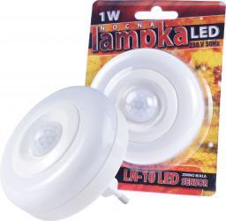 Lampka wtykowa do gniazdka Rum-Lux LED z czujnikiem ruchu