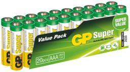 GP Battery SUPER ALKALINE  AAA/LR03 (AAA 20-P 24A)