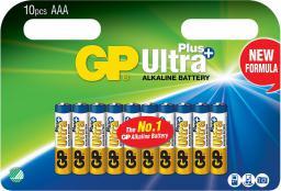 GP Battery ULTRA PLUS ALKALINE AAA/LR03 (AAA 10-P 24AUP)