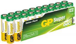 GP Battery SUPER ALKALINE  AA/LR6 (AA 20-P 15A)