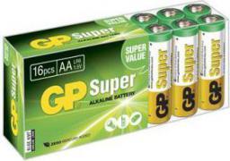 GP Battery SUPER ALKALINE AA/LR6 (AA 16-P 15A)