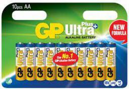 GP Battery ULTRA PLUS ALKALINE AA/LR6 (AA 10-P 15AUP)
